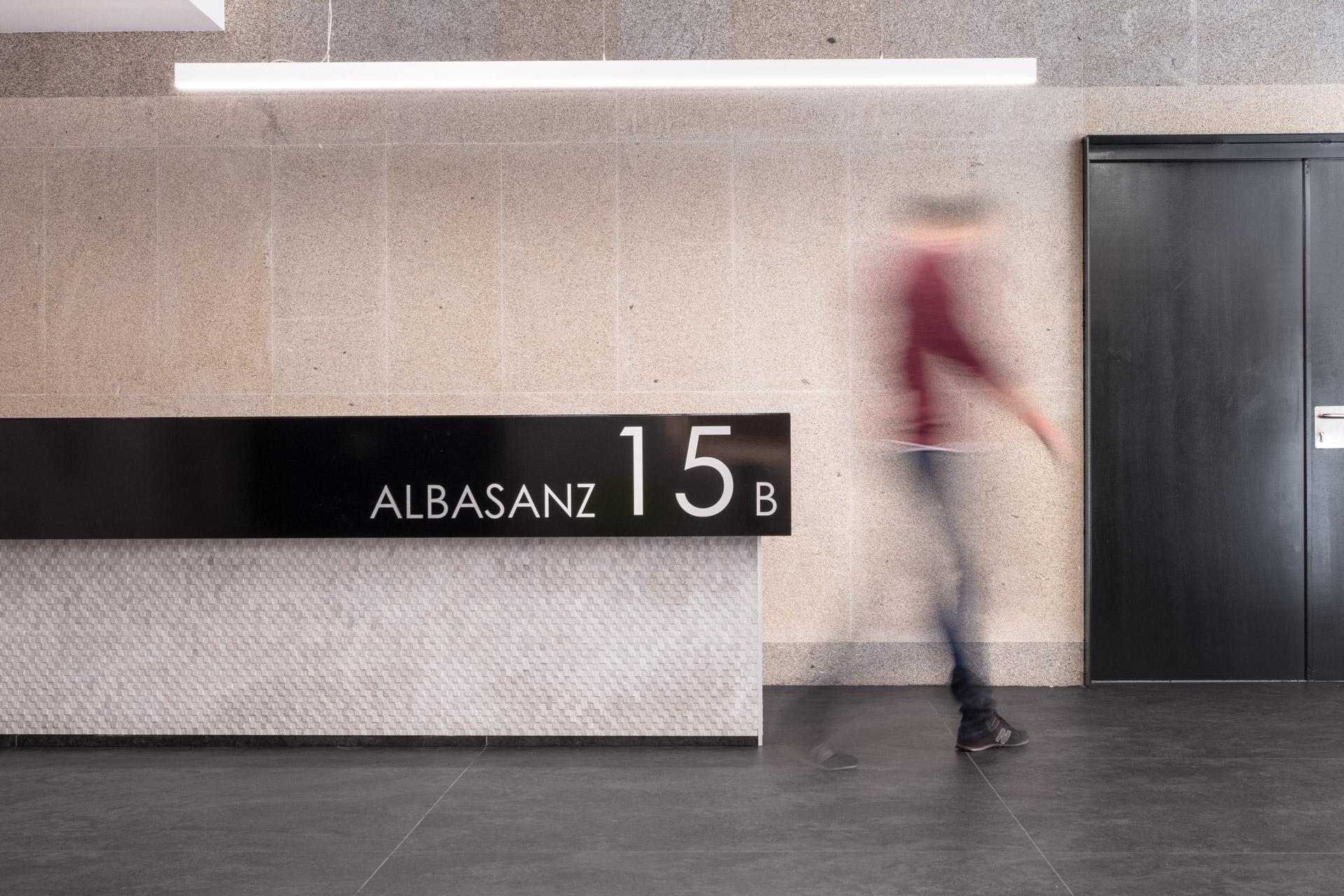Recepción Albasanz 15B - Diseño y Reforma